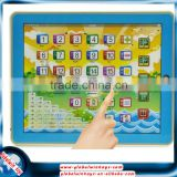 children 3d pad chinese and english teaching toys funny number cognition learning for kids gw-tys2921g-i