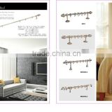 Max.6m curtain rod/curtain pole/curtain track from China Manufacturer