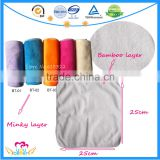 Reusable Baby Bamboo Wet Wipes Soft Bamboo Washcloth
