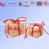 Printing lables candy box,beautiful paper card wedding candy box