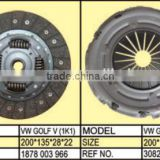 VM GOLF V (1K1) Clutch disc and clutch cover/European car clutch /1878 003 966/3082 000 796