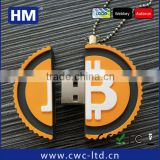 2014 small business custom PVC gifts bitcoin miner usb flash for promotional                                                                         Quality Choice