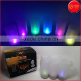 Hot sale CR2032 battery powered led artificial candle light 6pcs decorative led party light