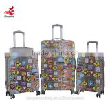 Wholesale Alibaba ABS Trolley Bag Travelling Luggage Wheeled Flight Case Hard Trolly Bag Cabin Suitcase