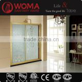 Y104 Chinese wholesales walk in tub shower combo for people/shower doors walk in tub shower