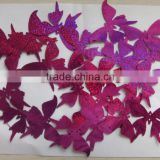 1.7x1.3cm 3.0x2.3cm 7.0x5.5cm Metallic PVC butterfly Wedding Confetti for party decoration