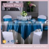 Linen Pro Awesome Blue 5 Star Hotel Restaurant Table Cloth