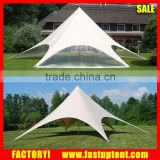 PVC fabric pole stretch star shaped party wedding tent for outdoor event                                                                         Quality Choice