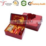 New endearing metal tin butter fly wedding candy chocolate packaging box                                                                                                         Supplier's Choice