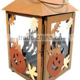 Halloween Decoration,Halloween metal lantern,moroccan metal lanterns,outdoor decorative metal lanterns,metal snowman lantern
