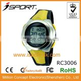 New Fashion High-tech Gift Plastic Digital Radio Controlled Movement Watch