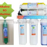 7 stages alkaline ro water filter system with Mineral filter RO plant for home use
