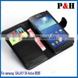 Top-grade wearproof leather case for samsung s4,Newest eco-friendly design for samsung galaxy s4 mini case