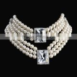 Imitation pearl Necklace wedding Jewelry Sets