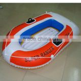 hot sale new design pvc inflatable boat for fun pool float/double raft lounger/inflatable boat mattress