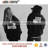 100% Cotton Fashion Custom Bulk Mens Black Hoody Unisex Fancy Printing                                                                         Quality Choice