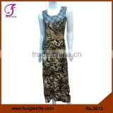 3613 Long Style Micoro Fiber Fashion Latest Lady New Casual Dress