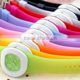 2013 Promotion Gift Cute & soft Silicone watch Silicone Wristwatch Wholesale price Silicone band wrist watch