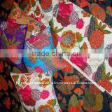 Kantha embroidered quilts/rallis set