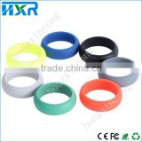 Instock! custom rubber finger ring food grade silicone finger ring rubber wedding ring
