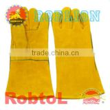 "Hot sell best price 14 "" Welding Gloves (item ID:GVAM) -Mary"