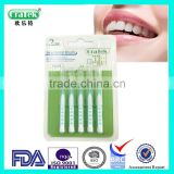 easy taking interdental brush / ultra thin interdental brush / disposable interdental brush