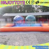 0.9mm PVC tarpaulin walking water ball pool / inflatable pvc swimming pool / pvc swimming pool