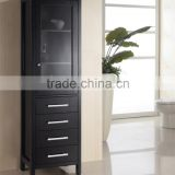 Classic Fashion Black Side Cabinets
