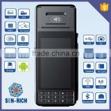 SEN-RICH RS385 Portable Mobile Android OS POS Terminal with Printer,MSR,WIFI,3G,Bluetooth