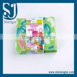 Trade Assurance Kitchen Cleaning Sponge Scouring Pad/Non-scratch scouring pad,colorful dish washing scouring pad sponge