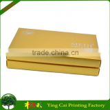 High Luxury Brushed Coated Hard Paper Box For Cosmetics Set Packaging