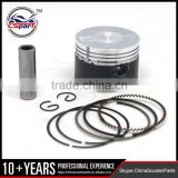 Performance 52.4MM 13MM Piston Rings Kit for 110cc Lifan ZongShen Kaya Xmotos Apollo orion Loncin dirt bikes ATV With molybdenum