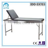 Stainless Steel Portable Patient Examination Bed