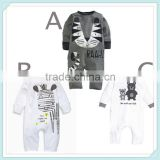 Cartoon Baby Rompers Fashion Brand 100% Cotton Long-Sleeve Ropa Infant Gril Jumpsuit Newborn Baby Boy Clothes