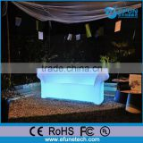 remote control rechargeable illuminated rgb color changing plastic led light indoor disco sofa
