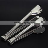 Stainless Steel Food Clip BBQ Tongs Steak Grip Kitchen Food Vegetable Spring Clip Clamp Cake Tongs Barbecue Clip S71