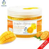 private label whitening body salt scrub wholesale OEM