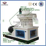Spent mushroom compost biomass pellet machine/ pellet mill with CE certification