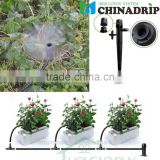 002 Adjustable Water Flow Irrigation Drippers on Stake Emitter Drip System