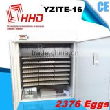 HOT sale Poultry machine automatic used chicken egg incubator for sale chicken egg incubator YZITE-16