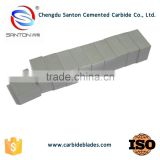 Chengdu manufacturer santon hard metal cemented tungsten carbide flat bar for metalworking