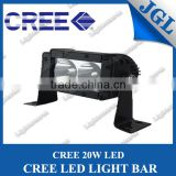 20w led light bar 5.5 inch back aluminum housing offroad led spot 12v led tractor work light bar