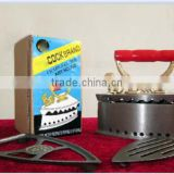 China factory hot sales carbon steel charcoal iron with cock brand
