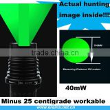 Subzero Power and Laser Beam Adjustable Long Distance Green Laser Designator Sight, torch laser illuminator light