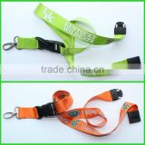 cheap lanyards cheap fashionable custom true nylon lanyard with safety buckle no mimimum order