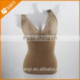 with 10 years experience factory offter OEM body shaper slimming vest Lace camisole women tank top