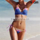 0546 NEW!The Crochet Babe Triangle Top hot sex bikini swimwear hot korean teen girl bikini