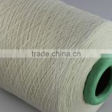 HIGH grade ne12s recycled dyed poly cotton knitting sock yarn for weaving