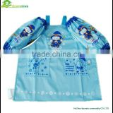 Cotton coated PVC kid apron Kid Apron for drawing cute Promotional Logo Printed Kids Apron cartoon customed