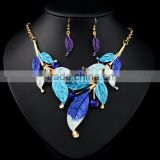 New Women Rhinestone Crystal Necklace Earring Wedding Bridal Jewelry Set